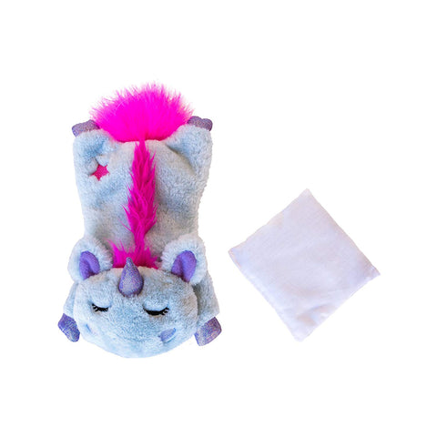 Petstages Unicorn Cuddle Pal Cat Calming Toy
