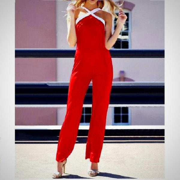 Nora Backless Rompers -  from ELZAVY Women Clothing and Classic Women Apparel