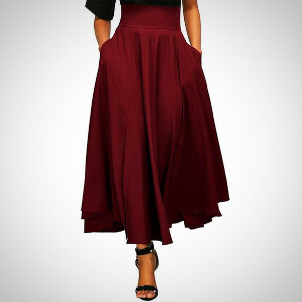 Ava Ankle-Length Skirt -  from ELZAVY Women Clothing and Classic Women Apparel