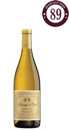 Menage a Trois Gold Chardonnay Branco, California 2015