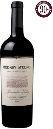 Rodney Strong - Estate Cabernet Sauvignon, Alexander Valley, California 2012 - SmartBuyWines.com.br