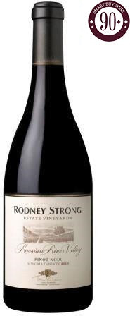 Rodney Strong - Estate Pinot Noir, Russian River Valley, California 2013 - SmartBuyWines.com.br