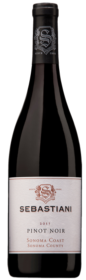 Sebastiani Vineyards & Winery - Pinot Noir, Sonoma Coast, California 2013 - SmartBuyWines.com.br