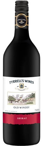 Tyrrell´s Wines - Old Winery Shiraz, Hunter Valley, Australia 2016
