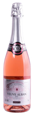 Les Grand Chais de France - Veuve Alban Rose Brut, Bordeaux, França - SmartBuyWines.com.br