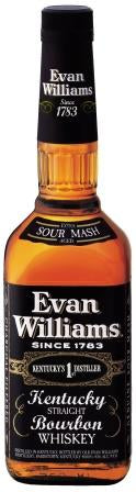 Whisky Bourbon Evan Williams Black Label, Estados Unidos - SmartBuyWines.com.br