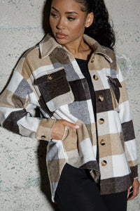 Wanderer Plaid Shacket