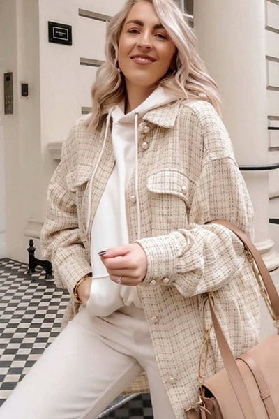 Upper East Side Tweed Shacket