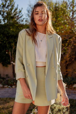 In Bloom Boyfriend Blazer