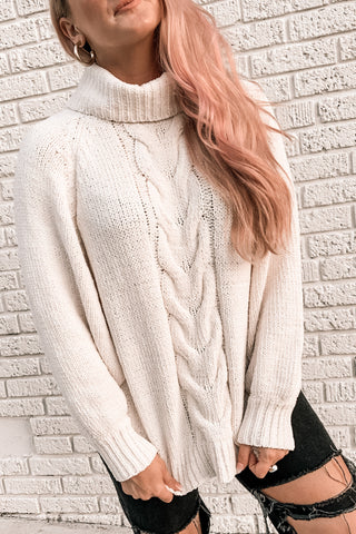 Cozy Nights Turtleneck Sweater