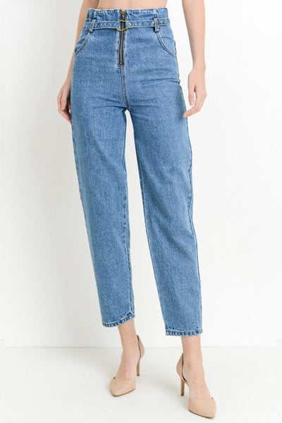 """I'm Blue"" High-Waisted Jean"