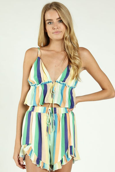 """Summer Girls"" Baby Doll Top"