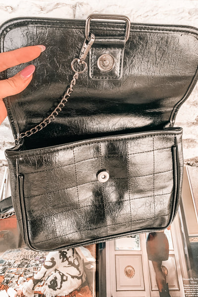 Never Chain-ge Faux Leather Bag