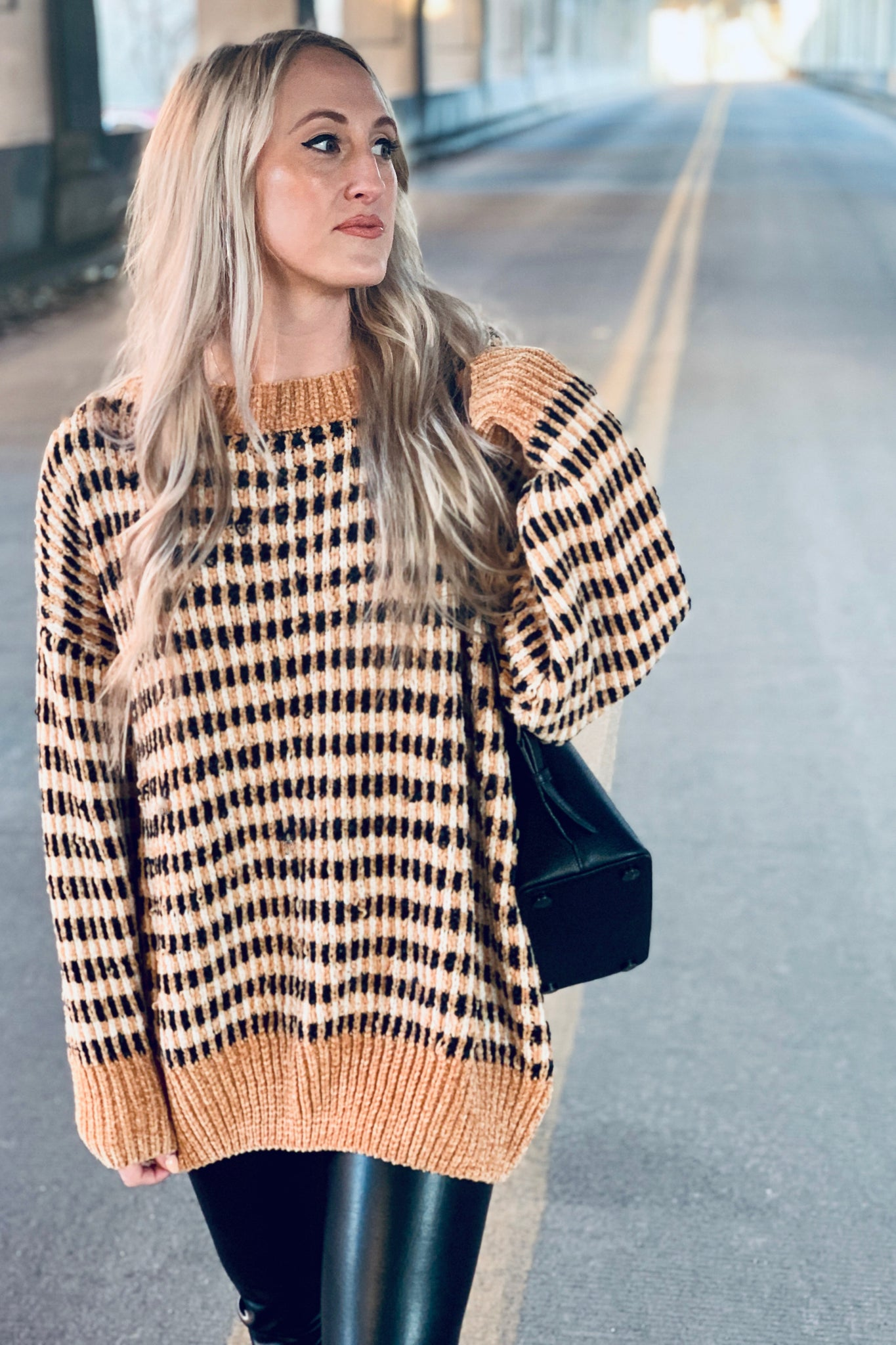 """Gold Digger"" Oversized Sweater"