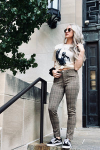"""Satisfaction"" Plaid Pants"