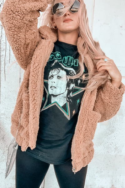 Bowie Stars Jersey Tee