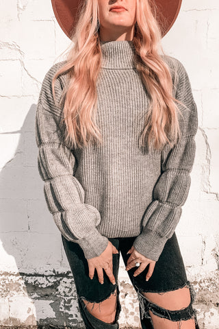 Tribeca Bubble Sleeve Sweater
