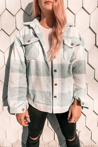 CompliMINT Plaid Shacket