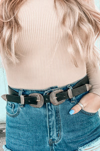 High Fashion Double Belt