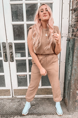 Free To Be Muscle Knit Jumpsuit