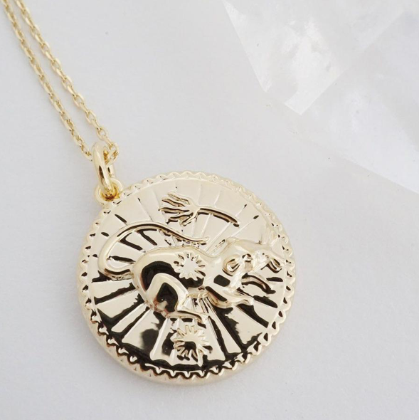 Chinese Zodiac Coin Necklace