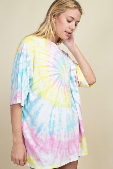 """One Love"" Tie Dye Tee"