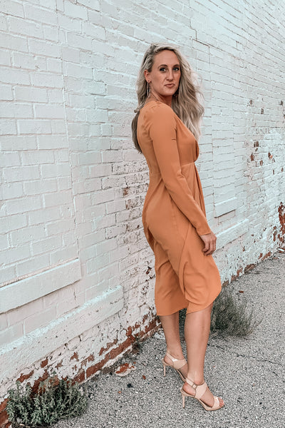 Saturday in the Park Mustard Dress