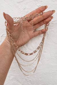 Keep Em Coming Layered Chain Necklace