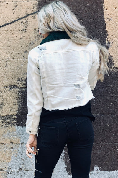 """The White Album"" Denim Jacket"