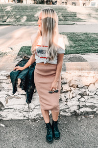 Hey Girl Midi Skirt