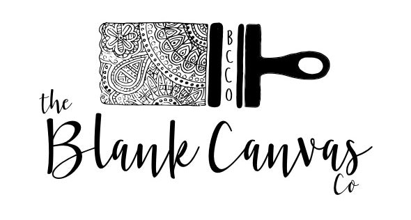 The Blank Canvas Company - Logo - Boston Artist - Custom Art - Custom Canvases - Prints - Stickers - Magnets - Painter
