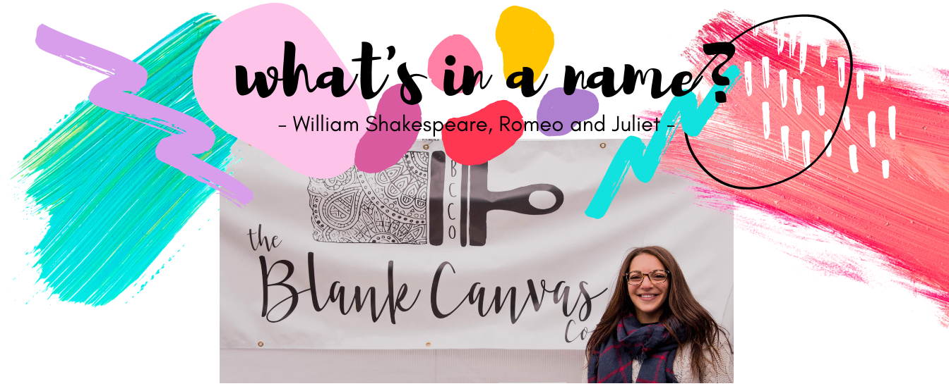 The Blank Canvas Company - Our Name - Get To Know Us - About Me - Boston Artist - Meet The Maker2