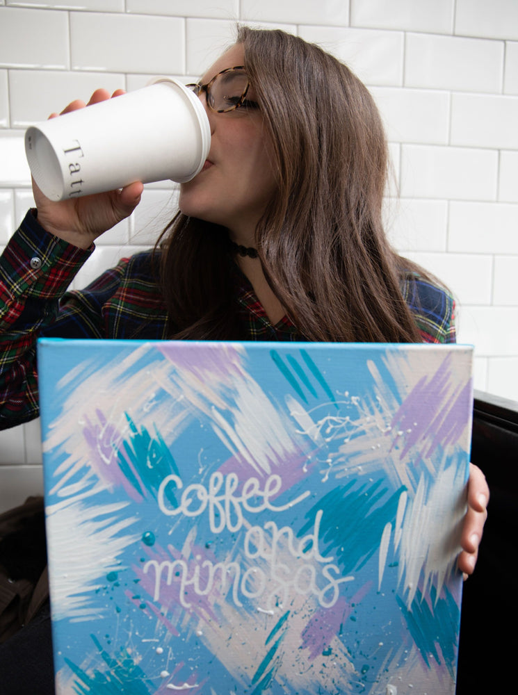 Coffee & Mimosas Canvas