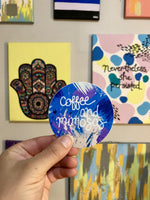 Coffee & Mimosas Sticker