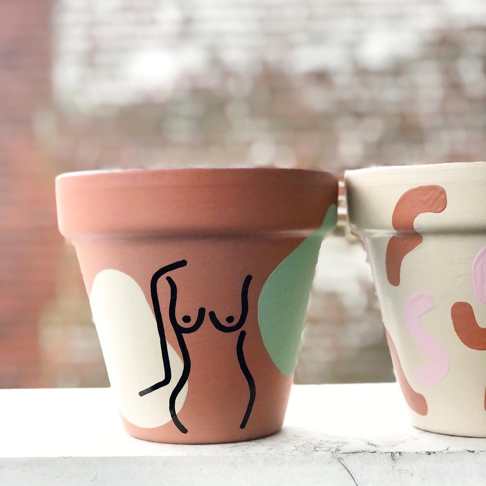Load image into Gallery viewer, Femme Figure Planter