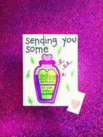 Love Potion Valentine's Day Card
