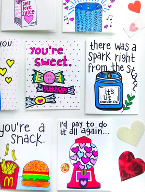 Gum Ball Machine Valentine's Day Card