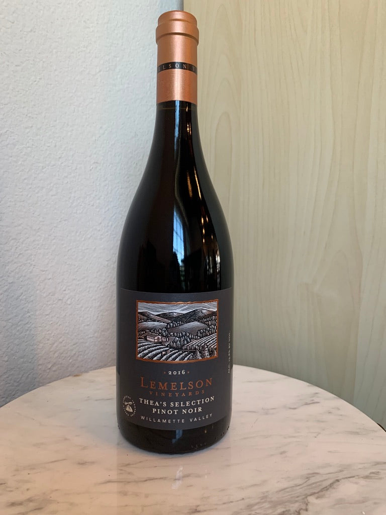 Lemelson Vineyards Thea's Selection Pinot Noir 2016