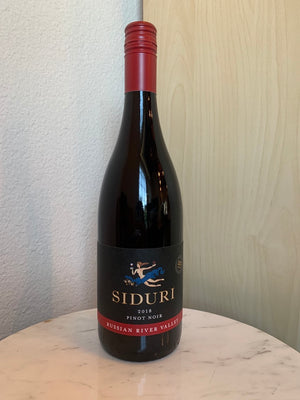 Siduri Russian River Valley Pinot Noir 2018