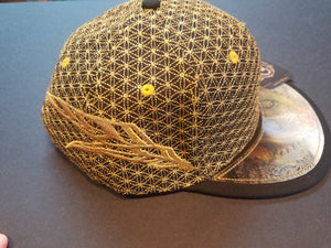 Black Gold Lion Hat
