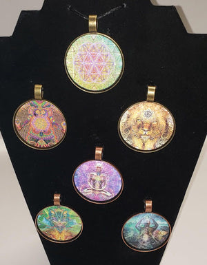 ALL SIX PENDANT DESIGNS