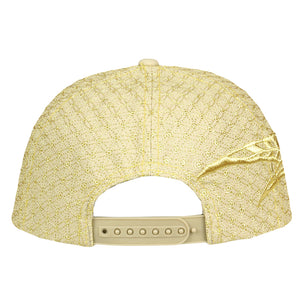 Metalic Gold and Tan Hologram Hat