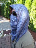 Fractal & Flower of Life Reversible Chain Hood