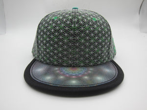 Flower of Life Hologram Hat