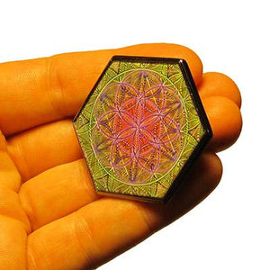 Pin - Flower Of Life Hologram Pin