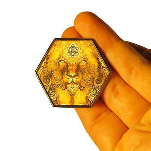 Pin - The Lion Hologram Pin