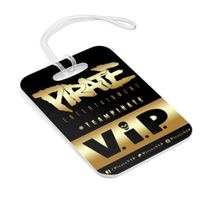 LAMINATE STYLE - KEYCHAIN/BAG TAG - GOLD