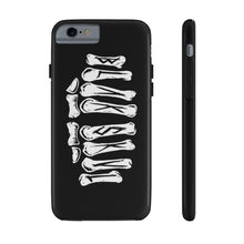 Load image into Gallery viewer, BLACK SKULL - @BLAKSKVL - Knuckles Phone Case