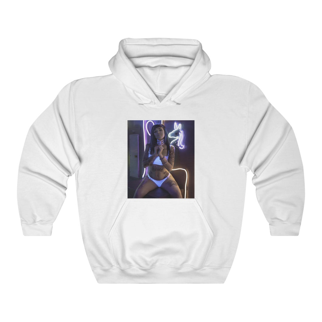 Skies Suicide Hooded Sweatshirt - Neon