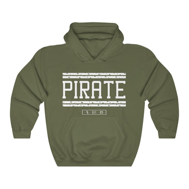 PIRATE VIP x BLACK SKULL - PIRATE HOODIE